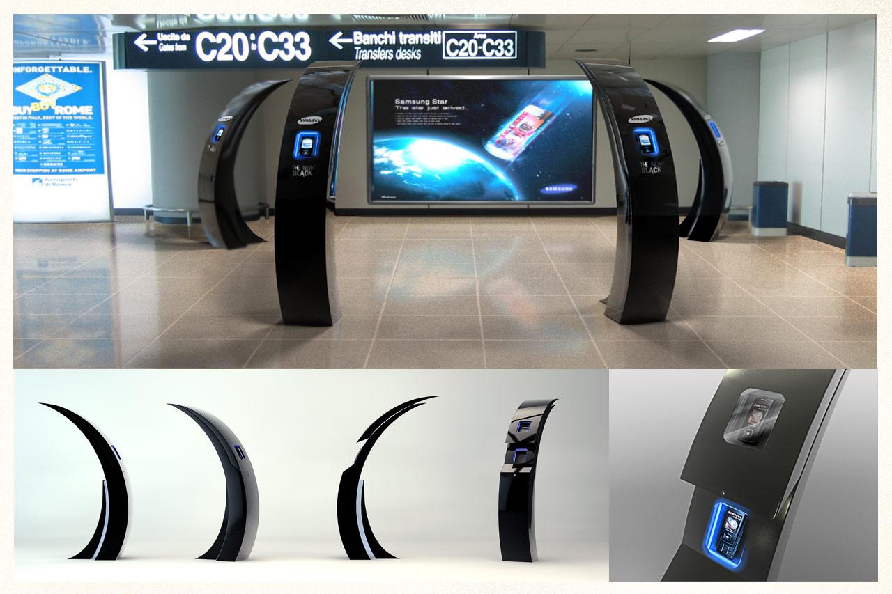 Freelance Exhibition Stand Design : Enrico guidi art direction design illustration
